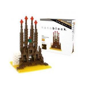 ナノブロック NBH-005  サグラダファミリア nanoblock Sagrada Familia|sieikan