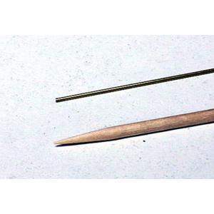 超極細真鍮パイプ  外径 0.7mm 内径 0.55mm|sieikan
