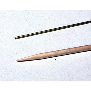 超極細真鍮パイプ  外径 0.9mm 内径 0.75mm|sieikan