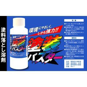 プラモデル 塗装 バスター 塗料落とし溶剤 80ml|sieikan