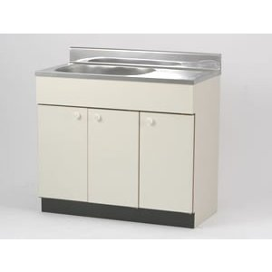おてがるキッチン流し台間口1000mmサイズ【BI-100N】|sigitaweb
