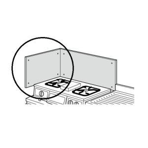 サンウエーブステンレス製防熱板 側壁用