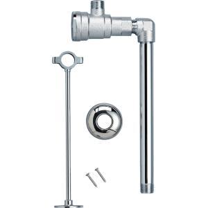 ミニキッチンオプション温水器用フィルター付止水栓(床給水の場合)【ELF-3SEK】|sigitaweb