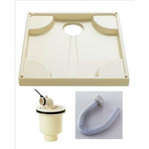 洗濯機用防水パン 縦びきトラップ付【FP-640-ZFPTT50】|sigitaweb