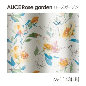 Disney カーテン ALICE アリス Rose garden / ローズガーデン オーダーサイズ (メーカー直送品)|sign-market|02