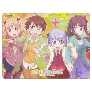 NEW GAME!!マウスパッド(4人秋服)☆吸着シートタイプ|signshopjp