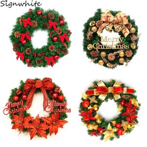 選べるクリスマス リースLサイズ インテリア 玄関 部屋 ドア 飾り クリスマスツリー クリスマス ...