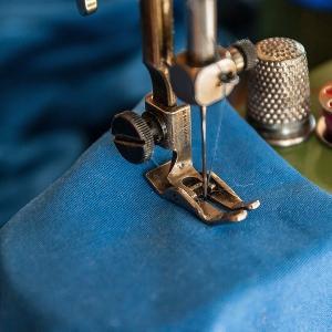 ズボン裾上げ ミシン縫い