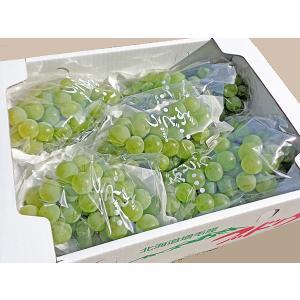 ポートランド ぶどう 4Kg(10房前後)北海道産 出荷時期...