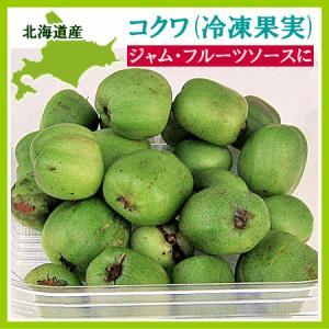 冷凍 コクワ(サルナシ)500g×1パック 北海道産 こくわ