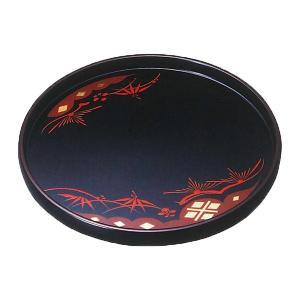 【送料無料】 丸盆 秀衡塗 9.0 (国産 木製 漆器 漆塗り お盆) 直径27cm|sikkiya