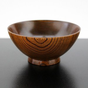 飯椀 欅 (漆塗り 木製 国産 お椀 漆器) |sikkiya