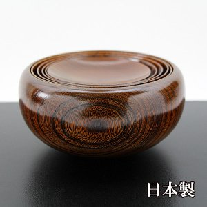 応量器 欅 国産 日本製 木製 漆器 漆塗り 鉢 お椀|sikkiya