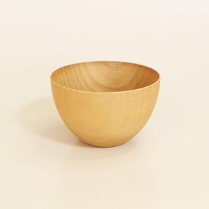 カフェボール ナチュラル 小 (木製 小鉢 お椀)|sikkiya