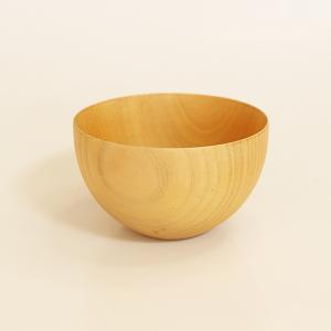 カフェボール ナチュラル 中 (木製 鉢 お椀)|sikkiya