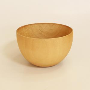 カフェボール ナチュラル 大 (木製 鉢 お椀)|sikkiya