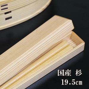 箸 箸箱 セット 国産杉 小 携帯箸 マイ箸 弁当箱 箸ケース お箸 日本製 箸19.5cm
