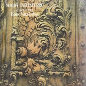 <中古LPレコード>ヴィラ・ロボス・Pf曲集(全9曲)/ショーロ5番,黄色いバラ,奥地の祭り,満ち潮,おませな子の幻想的な笛,他|silent-tone-record
