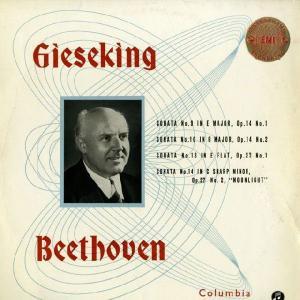 <中古LPレコード>ベートーヴェン:Pfソナタ9番Op.14−1,10番Op.14−2,13番Op.27−1,14番Op.27−2「月光」|silent-tone-record