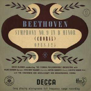 <中古LPレコード>ベートーヴェン:交響曲9番Op.125「合唱」|silent-tone-record