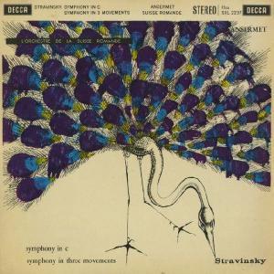 <中古LPレコード>ストラヴィンスキー:交響曲(1940),3楽章の交響曲(1945)