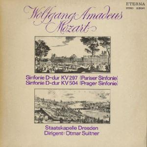 <中古LPレコード>モーツァルト:交響曲31番K.297「パリ」,38番K.504「プラハ」|silent-tone-record