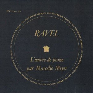 <中古LPレコード>ラヴェル:鏡,夜のガスパール,水の戯れ,パヴァーヌ,クープランの墓 他