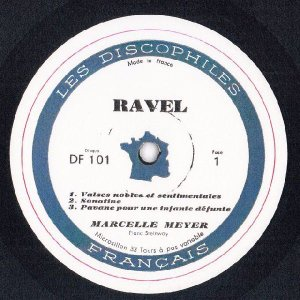 <中古LPレコード>ラヴェル:鏡,夜のガスパール,水の戯れ,パヴァーヌ,クープランの墓 他|silent-tone-record|03