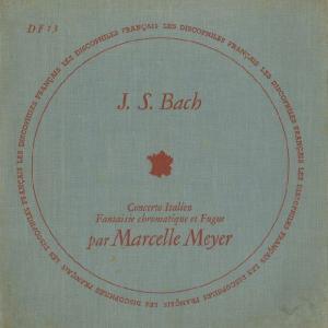 <中古LPレコード>バッハ:イタリア協奏曲,半音階的幻想曲,幻想曲とフーガ,幻想曲