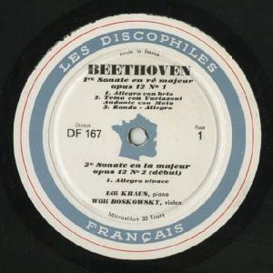 <中古LPレコード>ベートーヴェン:Vnソナタ1〜5,8番|silent-tone-record|02