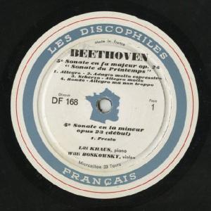 <中古LPレコード>ベートーヴェン:Vnソナタ1〜5,8番|silent-tone-record|03