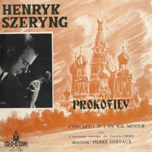 <中古LPレコード>プロコフィエフ:Vn協奏曲2番Op.63