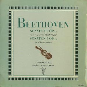 <中古LPレコード>ベートーヴェン:Vnソナタ9番「クロイツェル」Op.47,3番Op.12