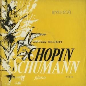 <中古LPレコード>シューマン:交響的練習曲Op.13,ショパン:Pfソナタ2番Op.35