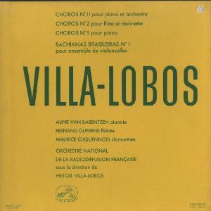 <中古LPレコード>ヴィラ・ロボス:ショーロ2,5,11番,バキアナ・ブラジレイラ1番
