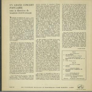<中古LPレコード>「ポピュラー・コンサート」メンデルスゾーン:序曲「フィンガルの洞窟」,チャイコフスキー:セレナーデOp.48〜2曲,他 silent-tone-record 02