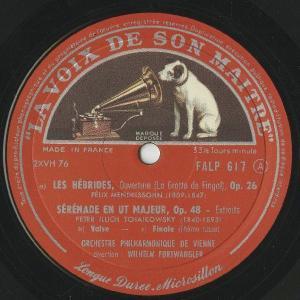<中古LPレコード>「ポピュラー・コンサート」メンデルスゾーン:序曲「フィンガルの洞窟」,チャイコフスキー:セレナーデOp.48〜2曲,他 silent-tone-record 03