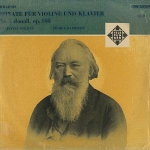 <中古クラシックLPレコード>ブラームス:ヴァイオリン・ソナタ3番Op.108/C.フェラス(vn)P.バルビゼ(pf)/独TELEFUNKEN:TW 30159|silent-tone-record