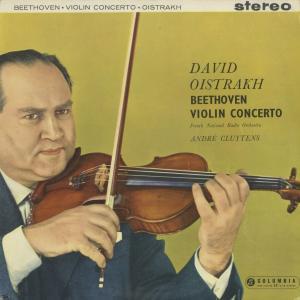 <中古クラシックLPレコード>ベートーヴェン:ヴァイオリン協奏曲/D.オイストラフ(vn)A.クリュイタンス指揮フランス国立放送o./英COLUMBIA:SAX 2315