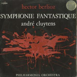 <中古クラシックLPレコード>ベルリオーズ:幻想交響曲Op.14/A.クリュイタンス指揮フィルハーモニアo./仏COLUMBIA:SAXF 123