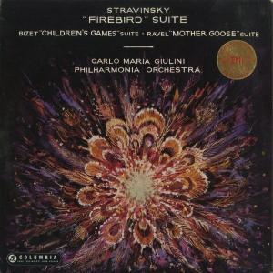 <中古クラシックLPレコード>ストラヴィンスキー:組曲「火の鳥」,他/C.M.ジュリーニ指揮フィルハーモニアo./英COLUMBIA:SAX 2279