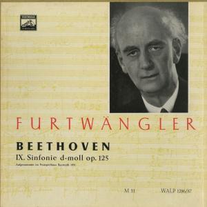 <中古クラシックLPレコード>ベートーヴェン:交響曲9番「合唱」/W.フルトヴェングラー指揮バイロイト祝祭o.cho./独ELECTROLA:WALP 1286-7