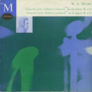 <中古クラシックLPレコード>モーツァルト:ヴァイオリン協奏曲3番,4番/P.マカノヴィツキー(vn)K.リステンパルト/仏クラブ・フランセ:266