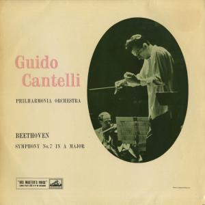 <中古クラシックLPレコード>ベートーヴェン:交響曲7番Op.92/G.カンテッリ指揮フィルハーモニアo./英HMV:ASD 254