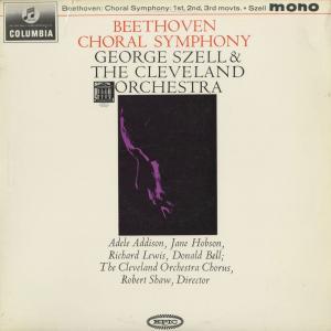 <中古クラシックLPレコード>ベートーヴェン:交響曲9番「合唱」,ワーグナー:「マイスタージンガー」前奏曲,他/G.セル指揮クリーブランドo.