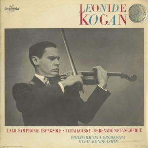 <中古クラシックLPレコード>ラロ:スペイン交響曲Op.21,チャイコフスキー:憂鬱なセレナーデ/L.コーガン(vn)K.コンドラシン指揮フィルハーモニアo.