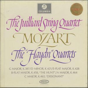 <中古クラシックLPレコード>モーツァルト:弦楽四重奏曲14〜19番「ハイドンセット」/ジュリアードQt./英COLUMBIA:SAX 2470-2