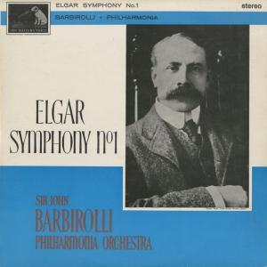 <中古クラシックLPレコード>エルガー:交響曲1番Op.55/J.バルビローリ指揮フィルハーモニアo./英HMV:ASD 540|silent-tone-record