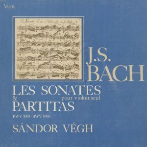 <中古クラシックLPレコード>バッハ:6つの無伴奏ヴァイオリン・ソナタBWV.1001〜1006/S.ヴェーグ(vn)/仏VALOIS:CMB 14