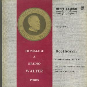 <中古クラシックLPレコード>ベートーヴェン:交響曲全集/B.ワルター指揮コロンビアso./ウェストミンスターcho. E.グンダリ(s)他